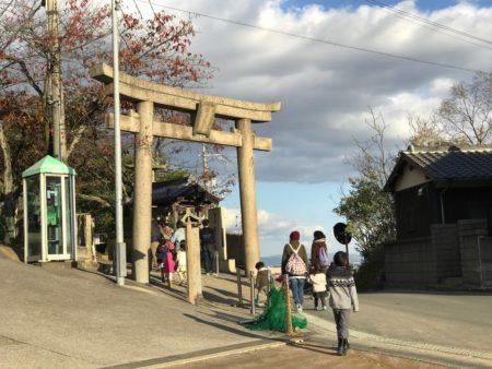 生石神社の鳥居