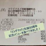 ビッグマックBLTのグランドセットを食べました!