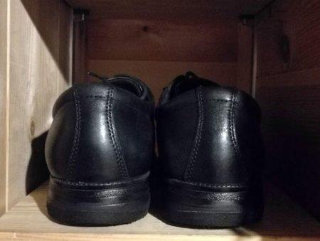 靴を修理してバッチリ水平になりました!